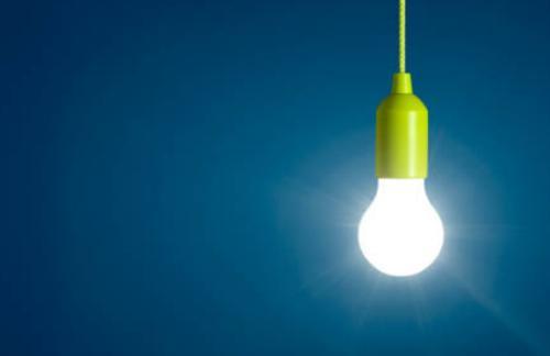 Brillo de las lamparas led